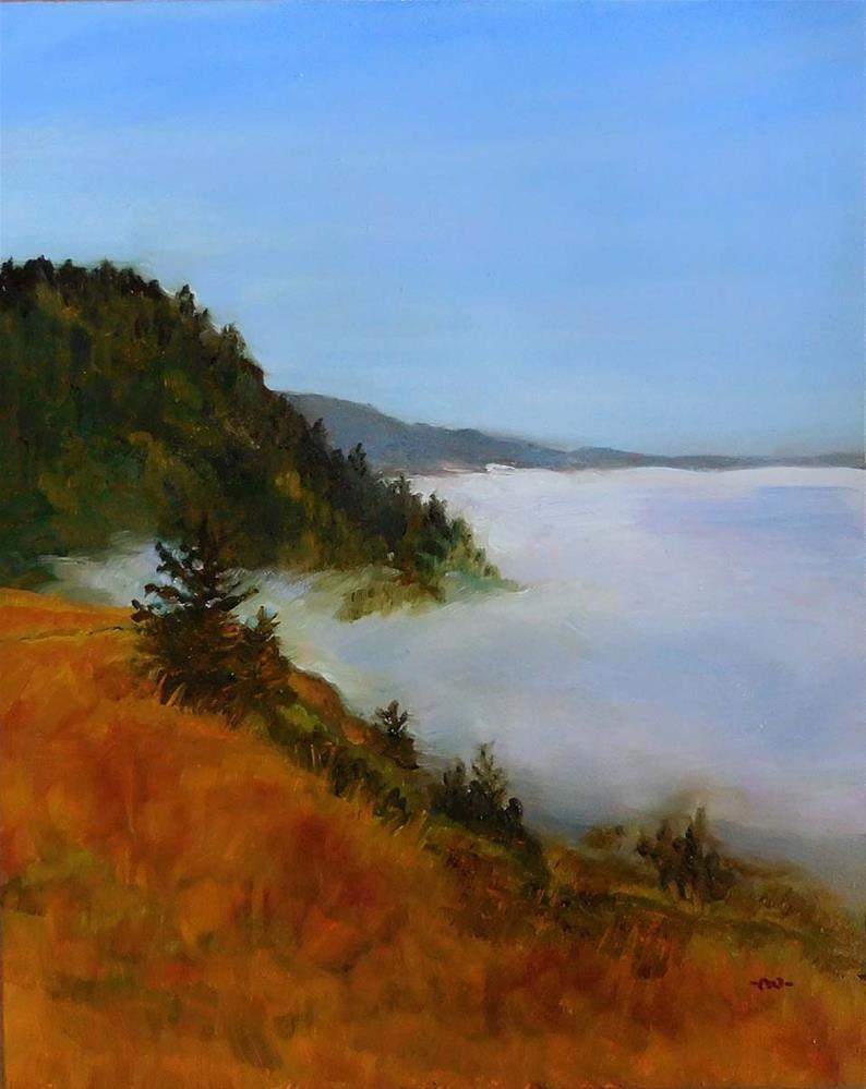 """""""Soft Blanket of Fog"""" original fine art by Cietha Wilson"""