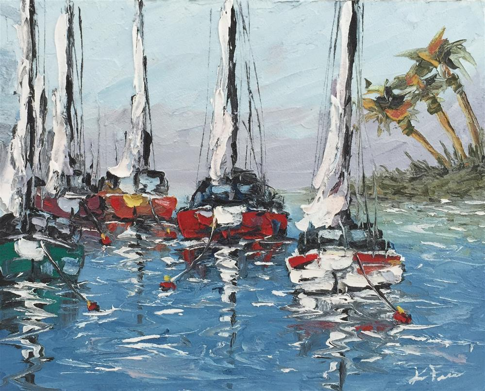 """Board Meeting"" original fine art by Ken Fraser"