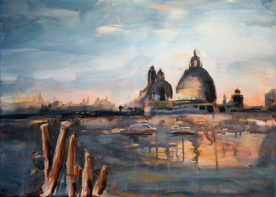 """2172 Venezia Demo"" original fine art by Dietmar Stiller"