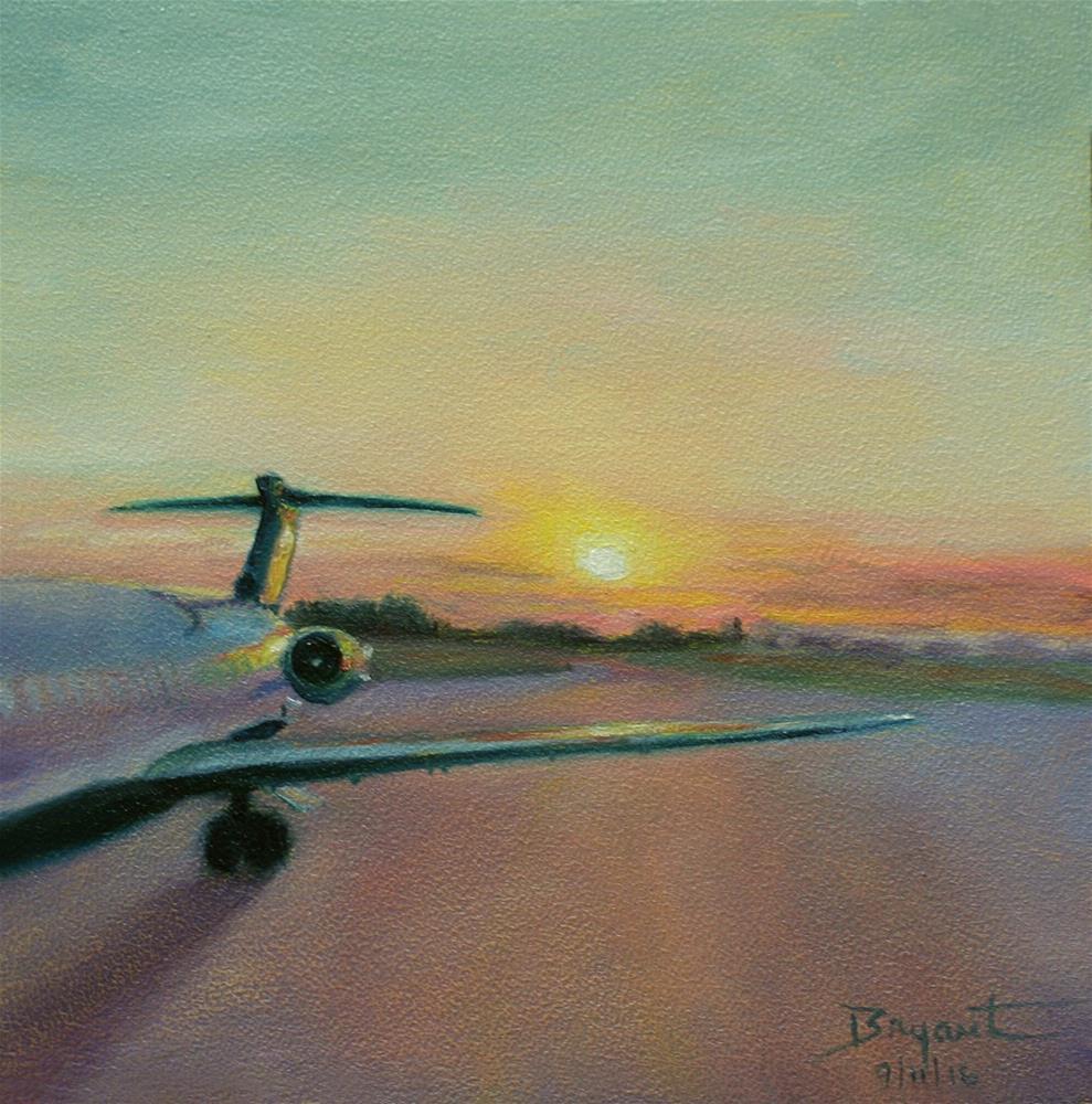 """""""Flying Spirit ~ American Dawn"""" original fine art by Debra Bryant"""