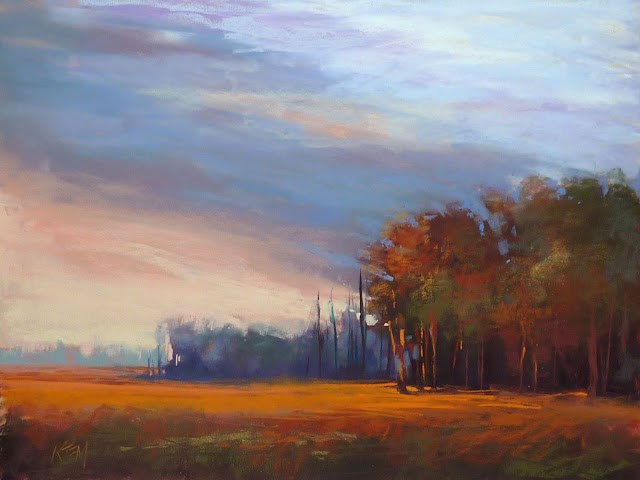 """""""10 Things for an Artist to Be Thankful For Today"""" original fine art by Karen Margulis"""