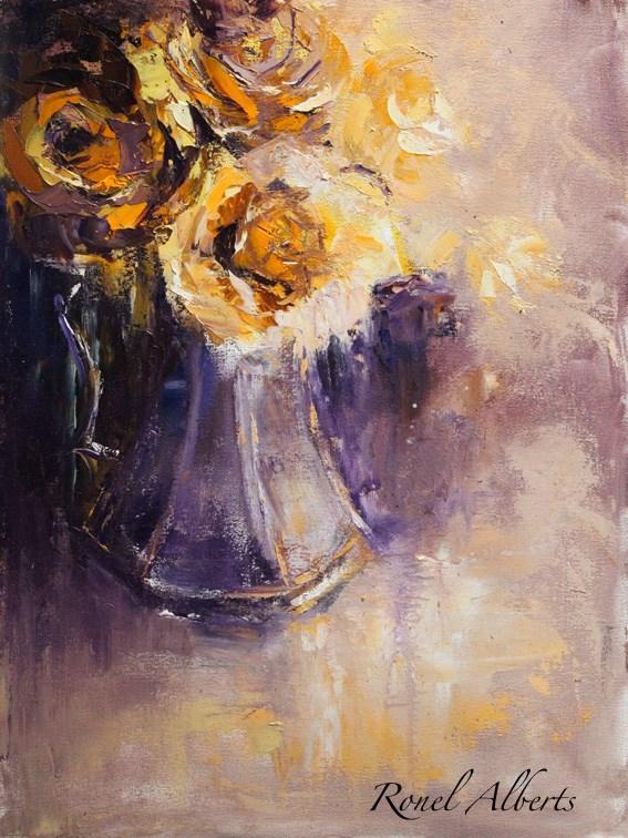 """bunch of sunshine"" original fine art by Ronel Alberts"