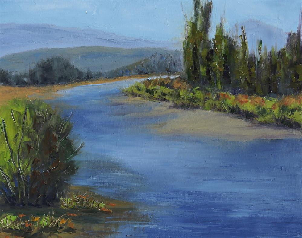 """Rocky Mountain National Park Summer"" original fine art by Linda mooney"