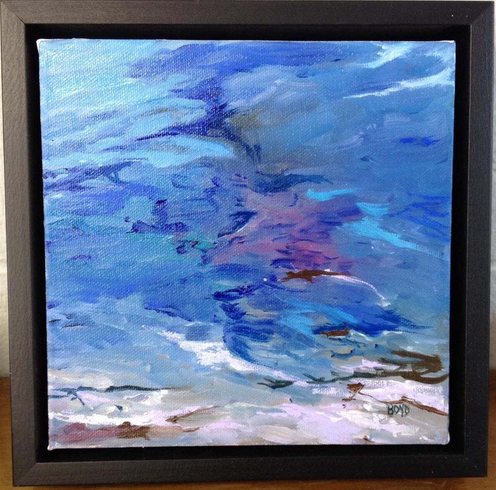 """""""Liquidity"""" original fine art by Cathy Boyd"""