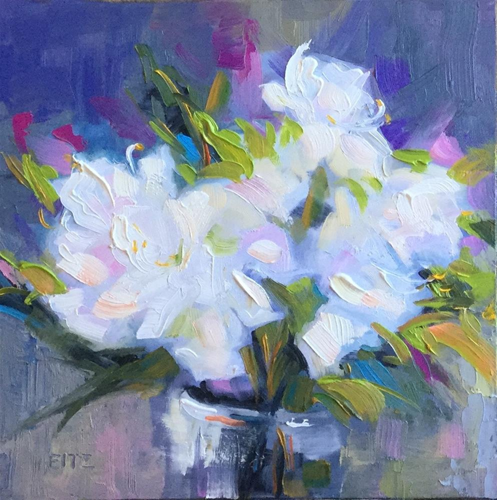 """April Bouquet"" original fine art by Charlotte Fitzgerald"