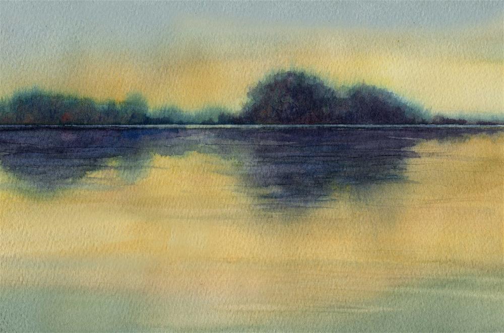 """New Day"" original fine art by Vikki Bouffard"