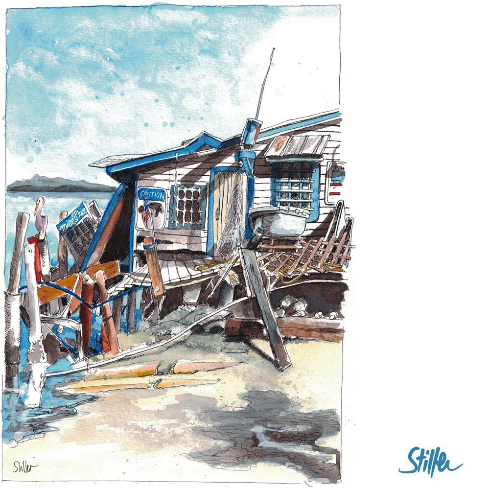 """3537 Hurricaned"" original fine art by Dietmar Stiller"