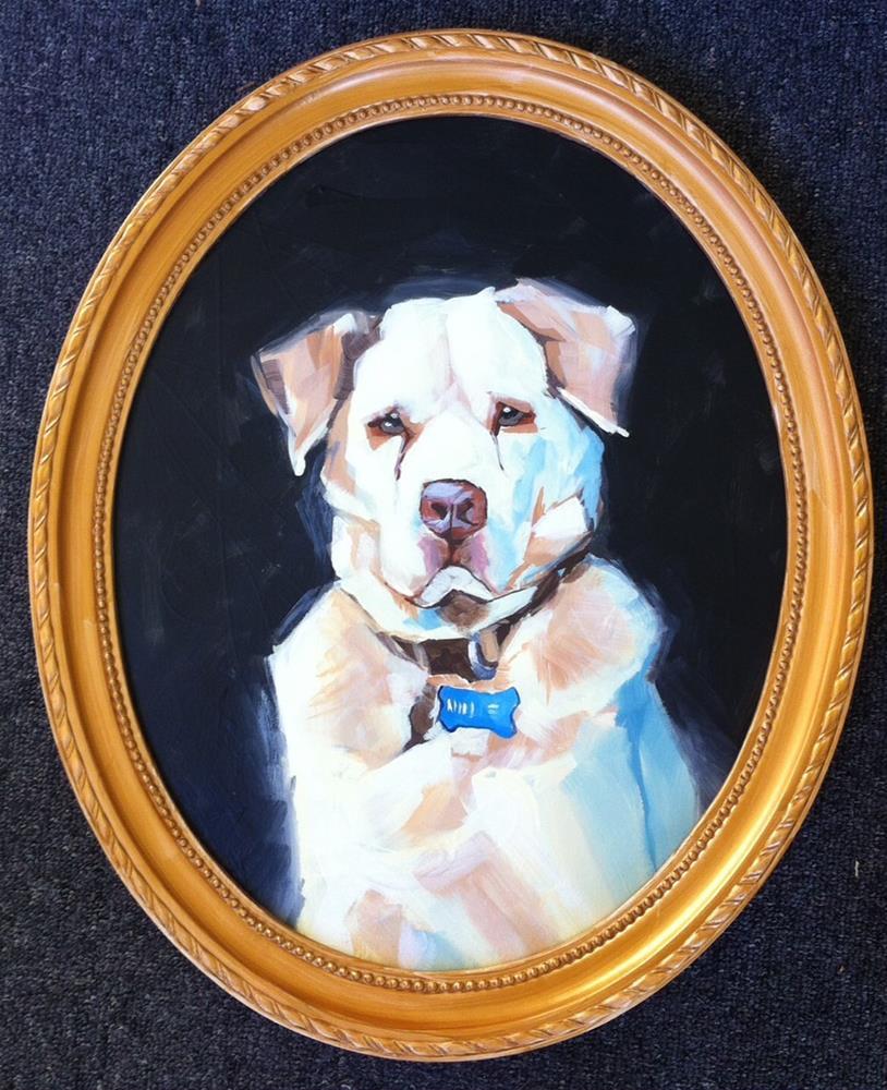 """""""Lord Hallie"""" original fine art by Teddi Parker"""