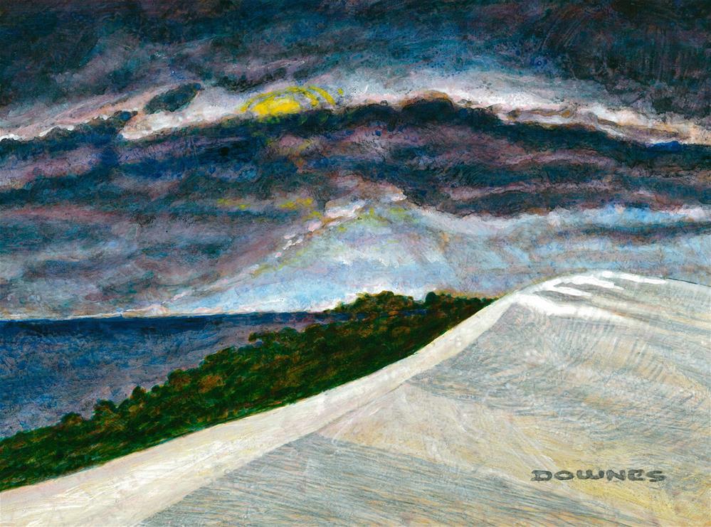 """""""234 MORETON ISLAND 2"""" original fine art by Trevor Downes"""