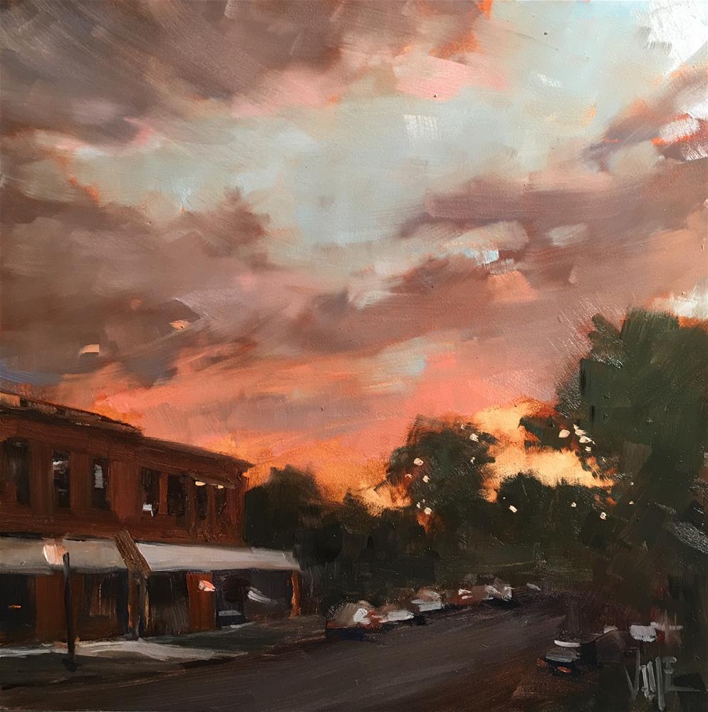 """""""#342 Selby Avenue"""" original fine art by Patty Voje"""