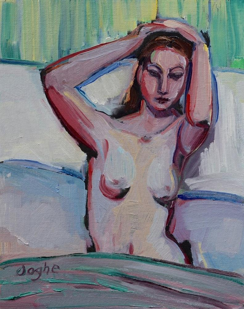 """""""Morning Nude"""" original fine art by Angela Ooghe"""