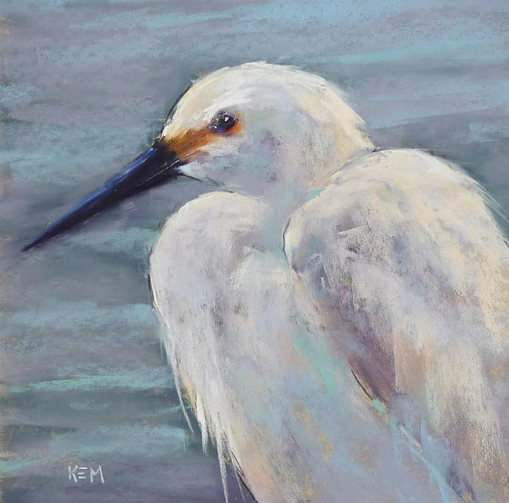 """""""How to Paint a Bird with 25  Pastels"""" original fine art by Karen Margulis"""