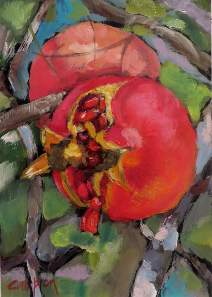 """832 Bursting With Joy"" original fine art by Diane Campion"