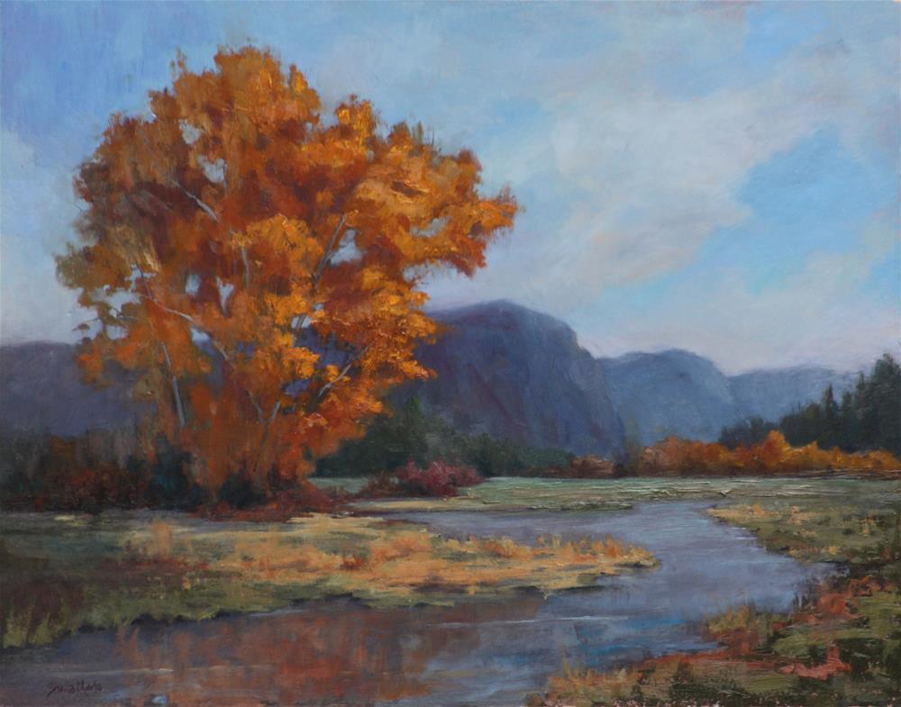 """Fall Lights Near Antonito"" original fine art by Sheila Marie"