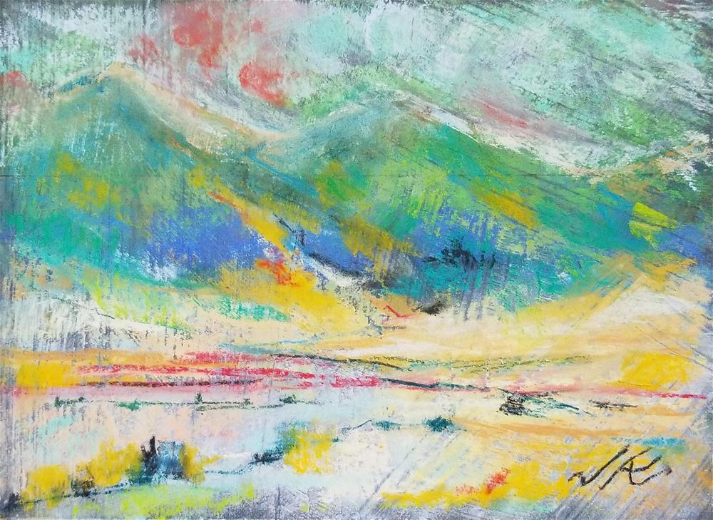 """""""Front Range"""" original fine art by Jean Krueger"""