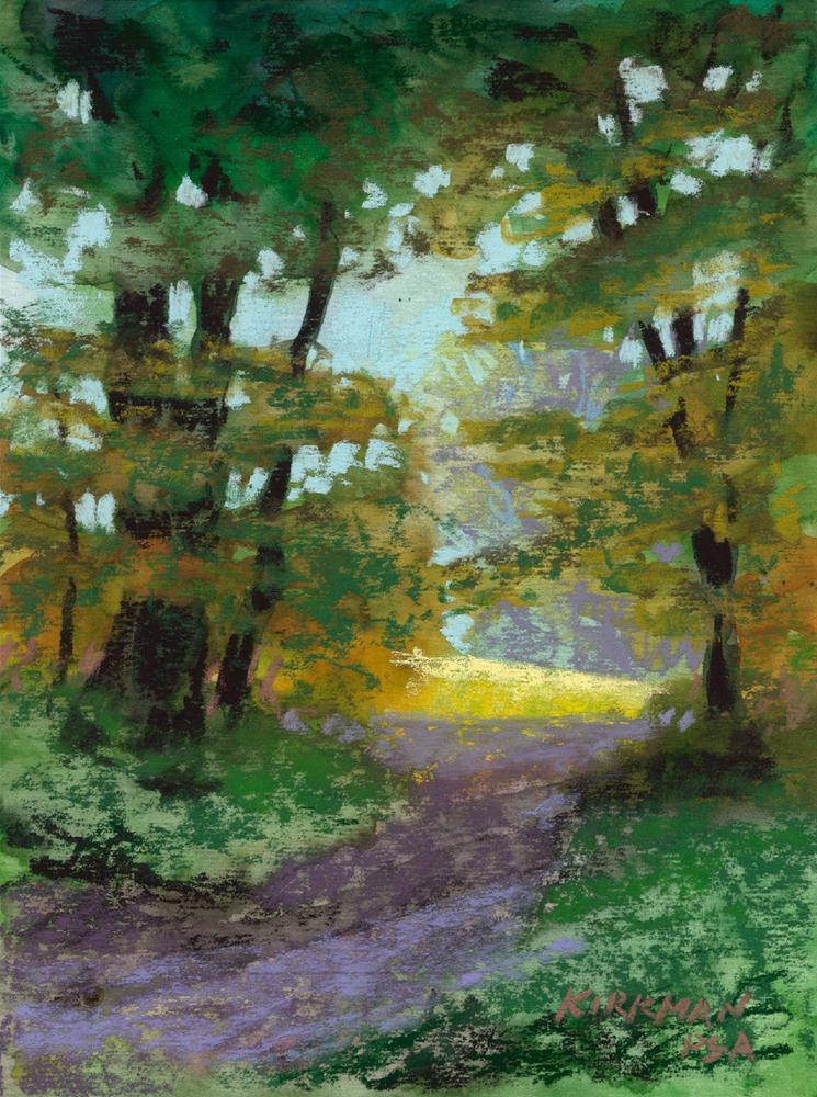 """Park Trail #21"" original fine art by Rita Kirkman"