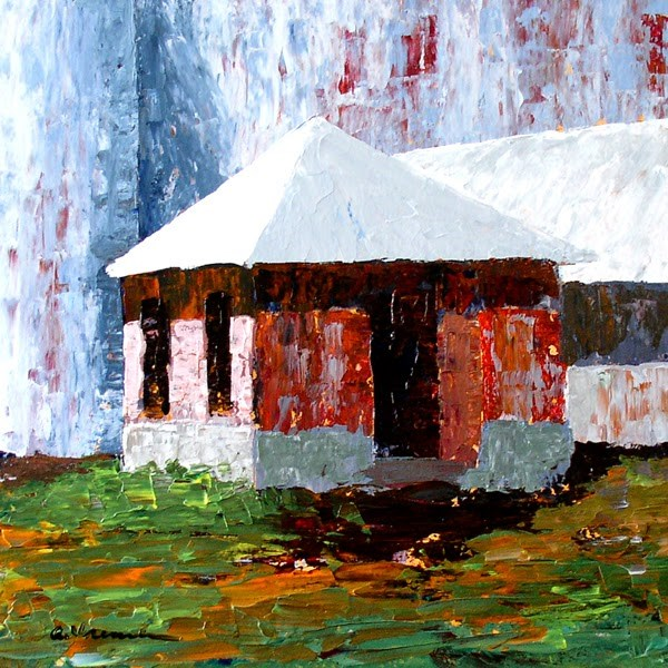 """Barn #16"" original fine art by Anna Vreman"