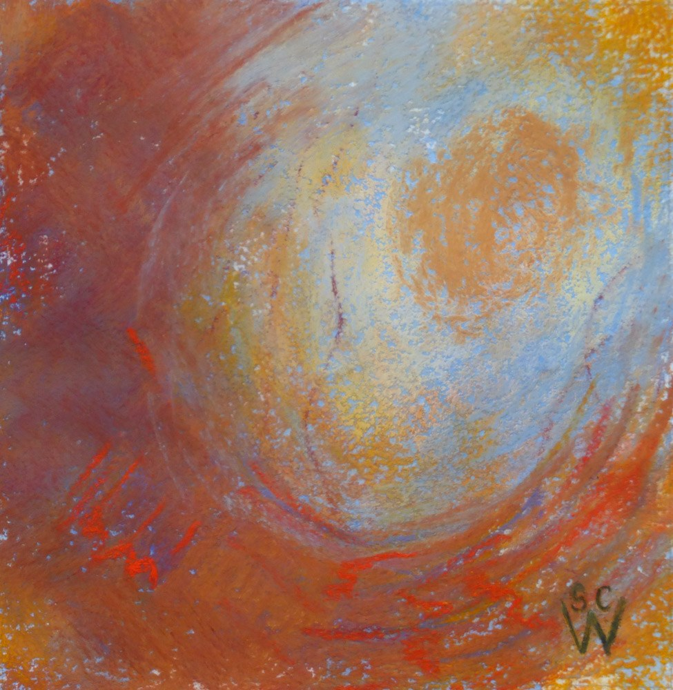 """Sunny Side Up"" original fine art by Susan Woodward"