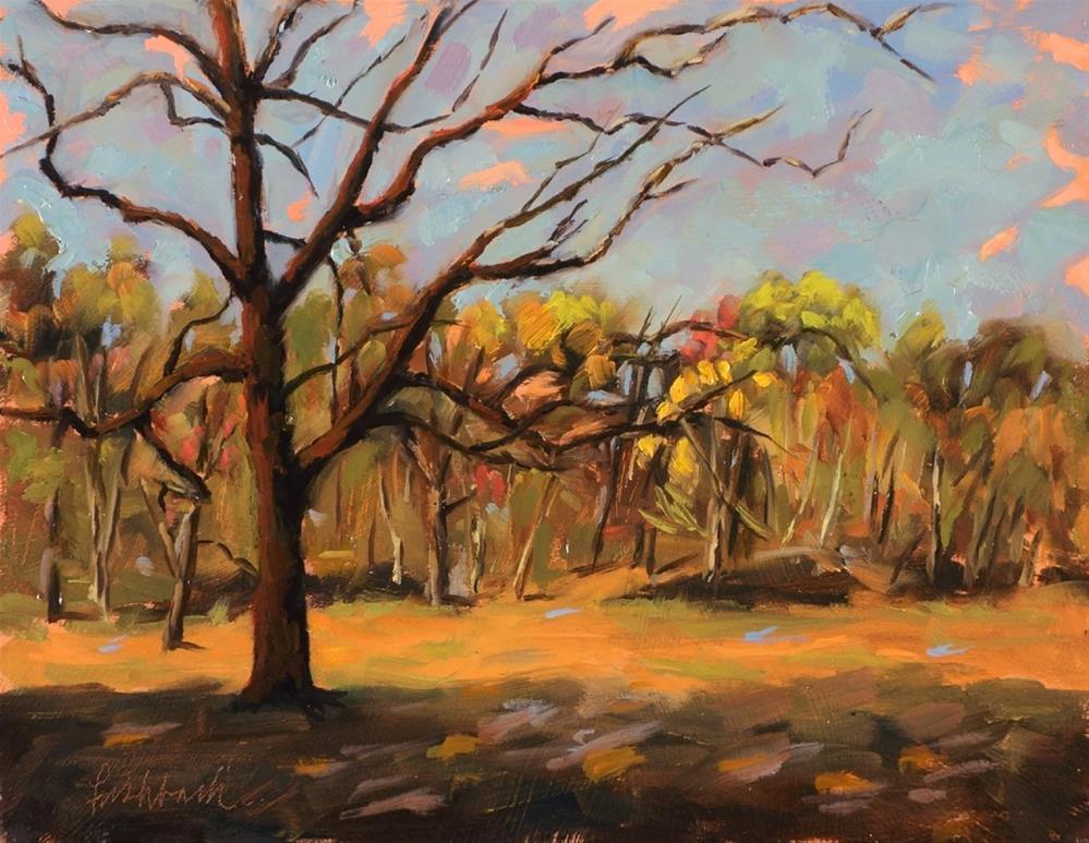 """Cedar Lane"" original fine art by Daniel Fishback"