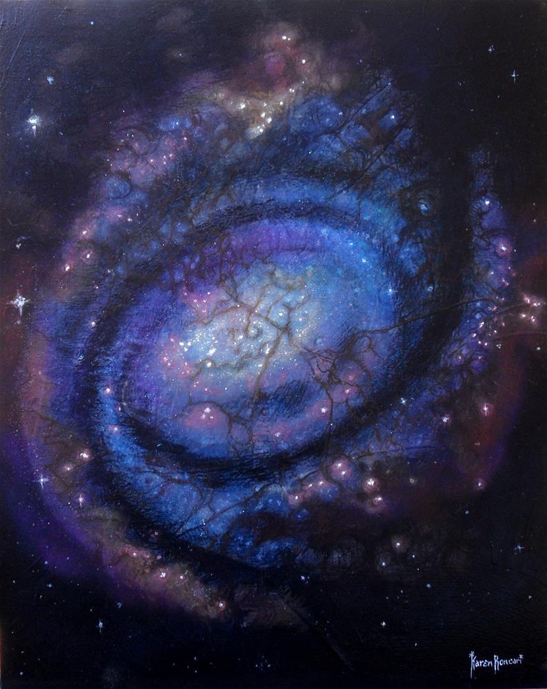 """""""Hot Stars"""" original fine art by Karen Roncari"""