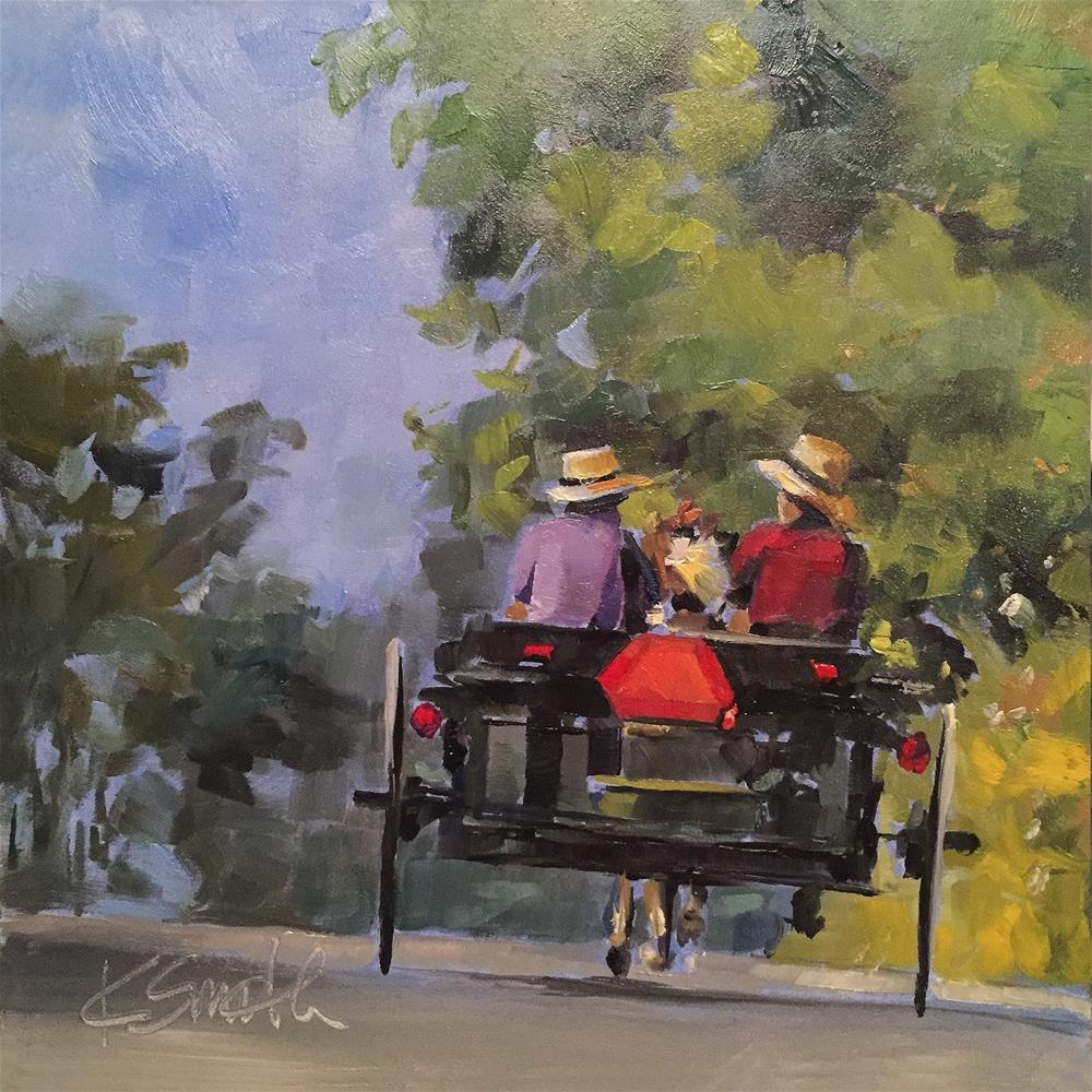 """""""the journey"""" original fine art by Kim Smith"""