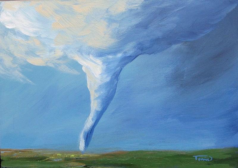 """Tornado VI"" original fine art by Torrie Smiley"