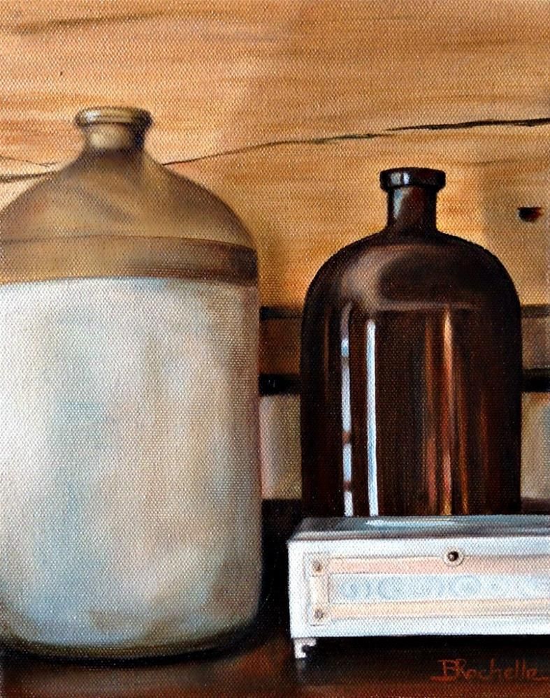 """Tennessee Mantel Pieces"" original fine art by Beth Moreau"