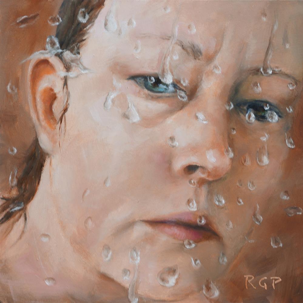 """Isolation"" original fine art by Rhea  Groepper Pettit"