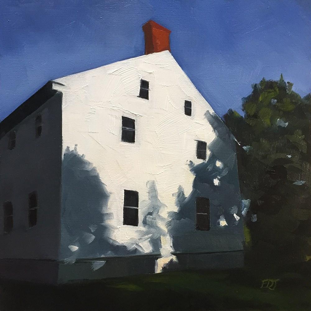 """Shaker House"" original fine art by Elizabeth Dawn Johnston"