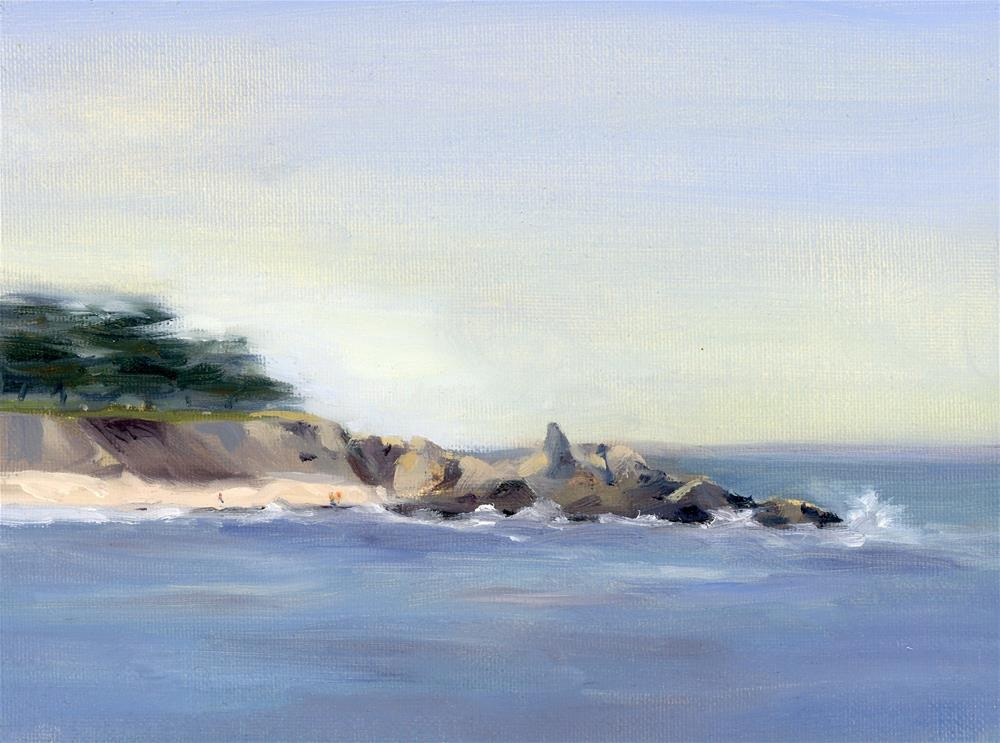 """""""Coastal Study III"""" original fine art by Susanne Billings"""