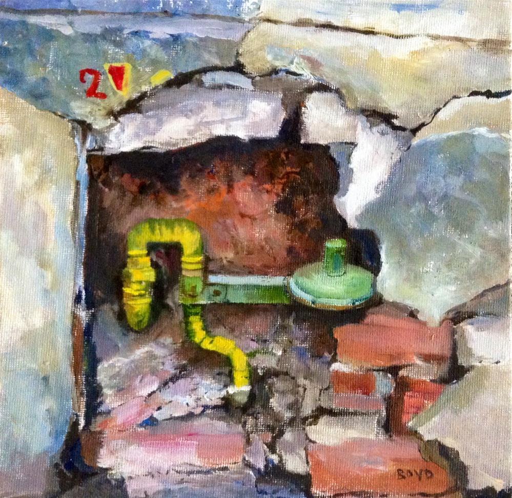 """""""The Works"""" original fine art by Cathy Boyd"""