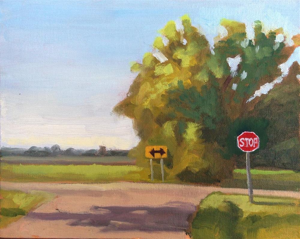 """Crossroads"" original fine art by Eric Larson"