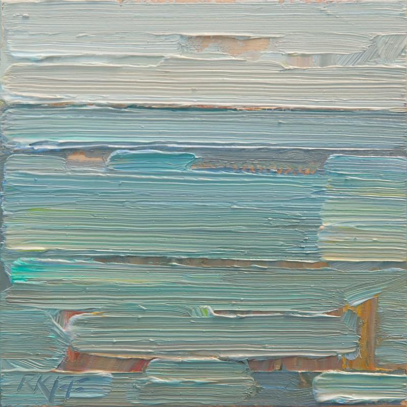 """View Royal Waterfront: 6x6 oil on panel"" original fine art by Ken Faulks"