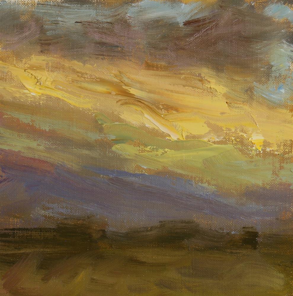 """""""Summer Sunset 01"""" original fine art by Scott Serafica"""