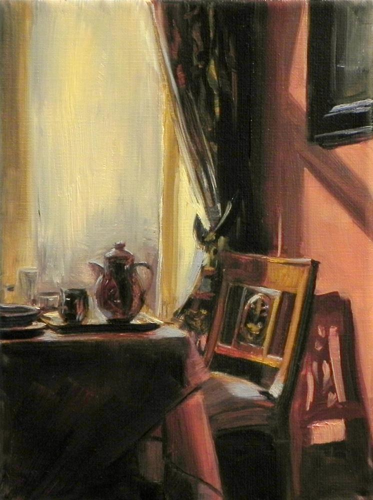 """""""Breakfast Table"""" original fine art by Jonelle Summerfield"""
