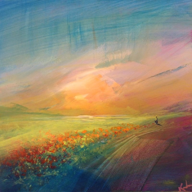 """Resonance"" original fine art by David Kuhn"