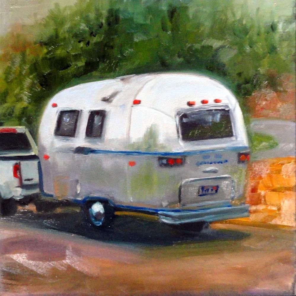 """""""Homeward Bound"""" original fine art by Cietha Wilson"""