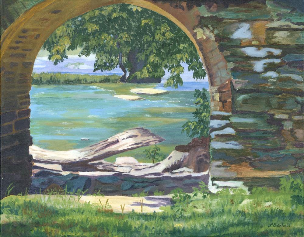 """""""Harper's Arch"""" original fine art by Lynne Reichhart"""