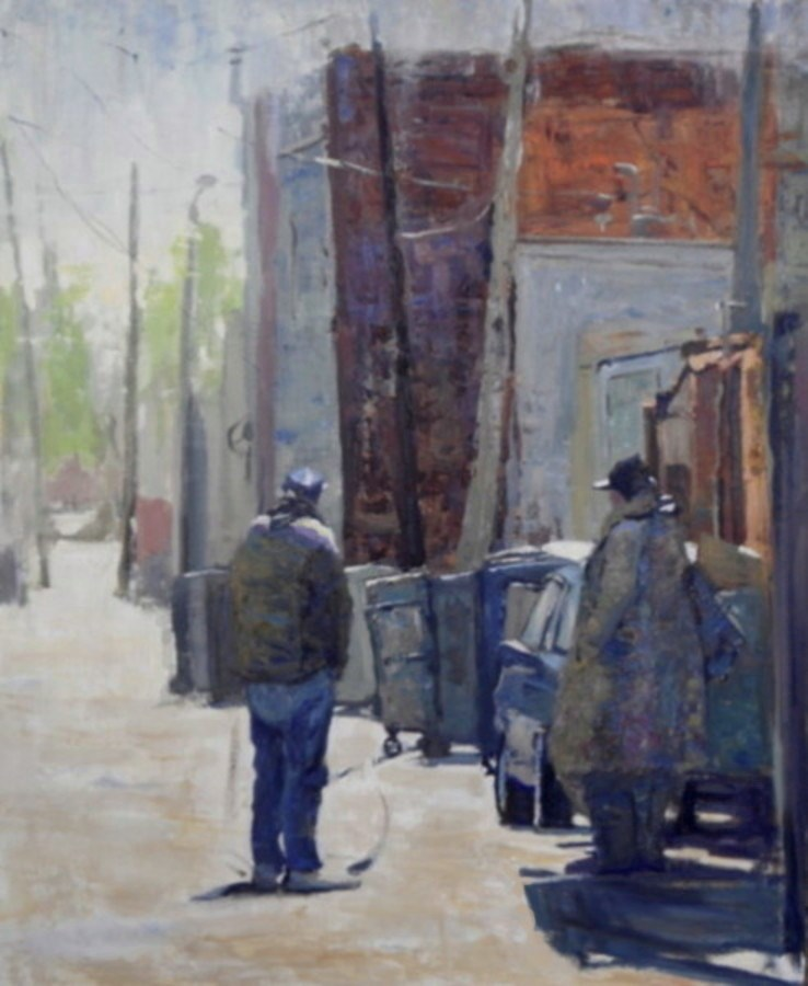 """""""High Noon"""" original fine art by Michael McConnell"""