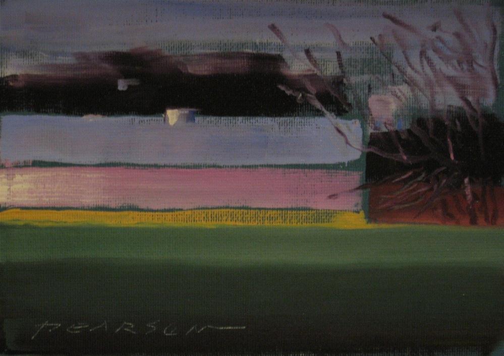 """""""Turkey Barn"""" original fine art by Dennis Pearson"""