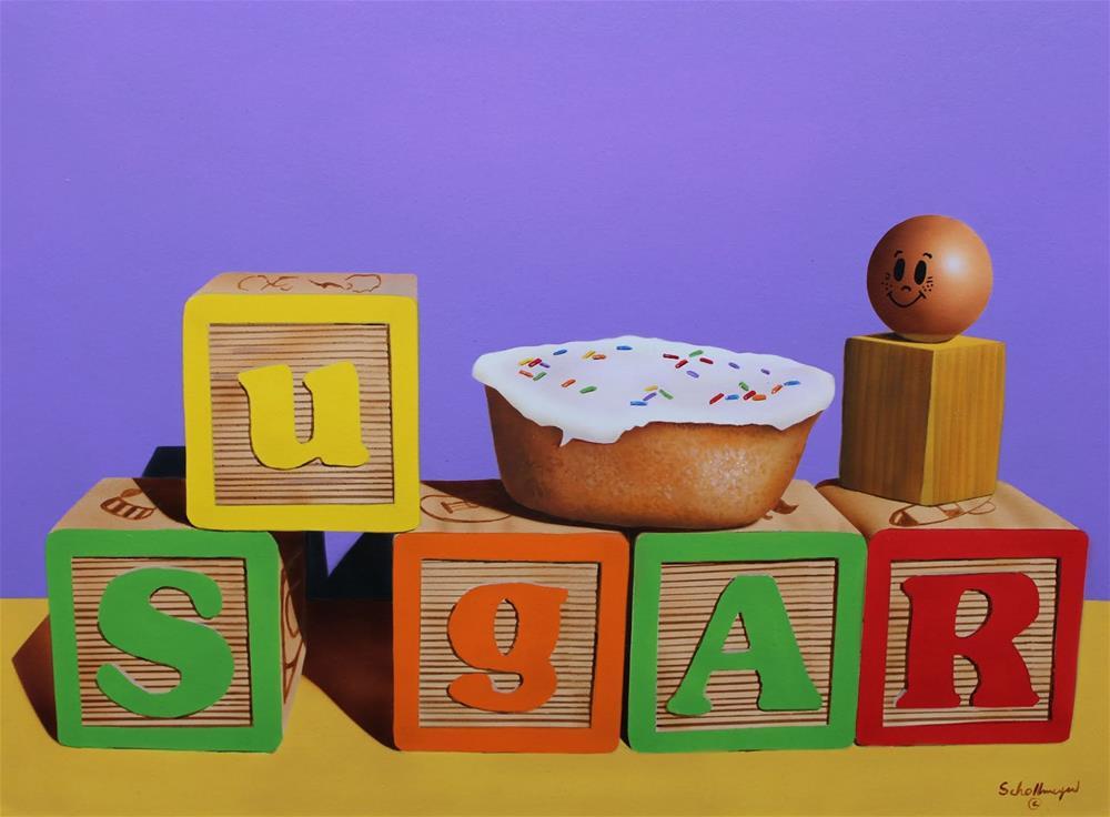 """""""Sugar"""" original fine art by Fred Schollmeyer"""