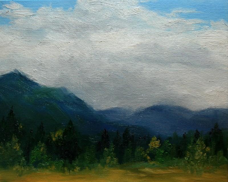 """""""Early Autumn"""" original fine art by Jean Nelson"""