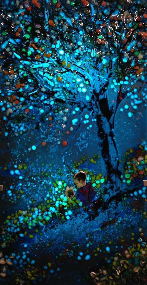 """Starlight Boy"" original fine art by Kelly Alge"