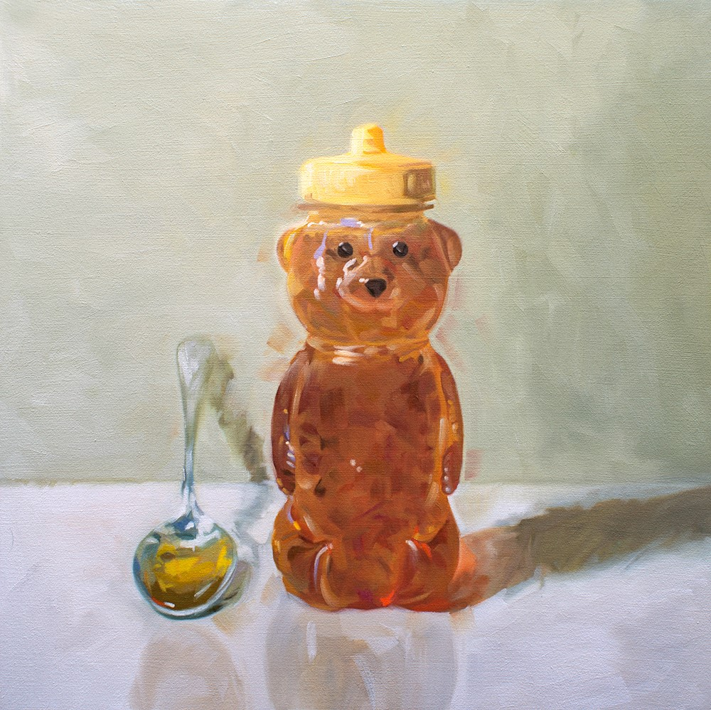 """Spoonful of Honey"" original fine art by Lauren Pretorius"