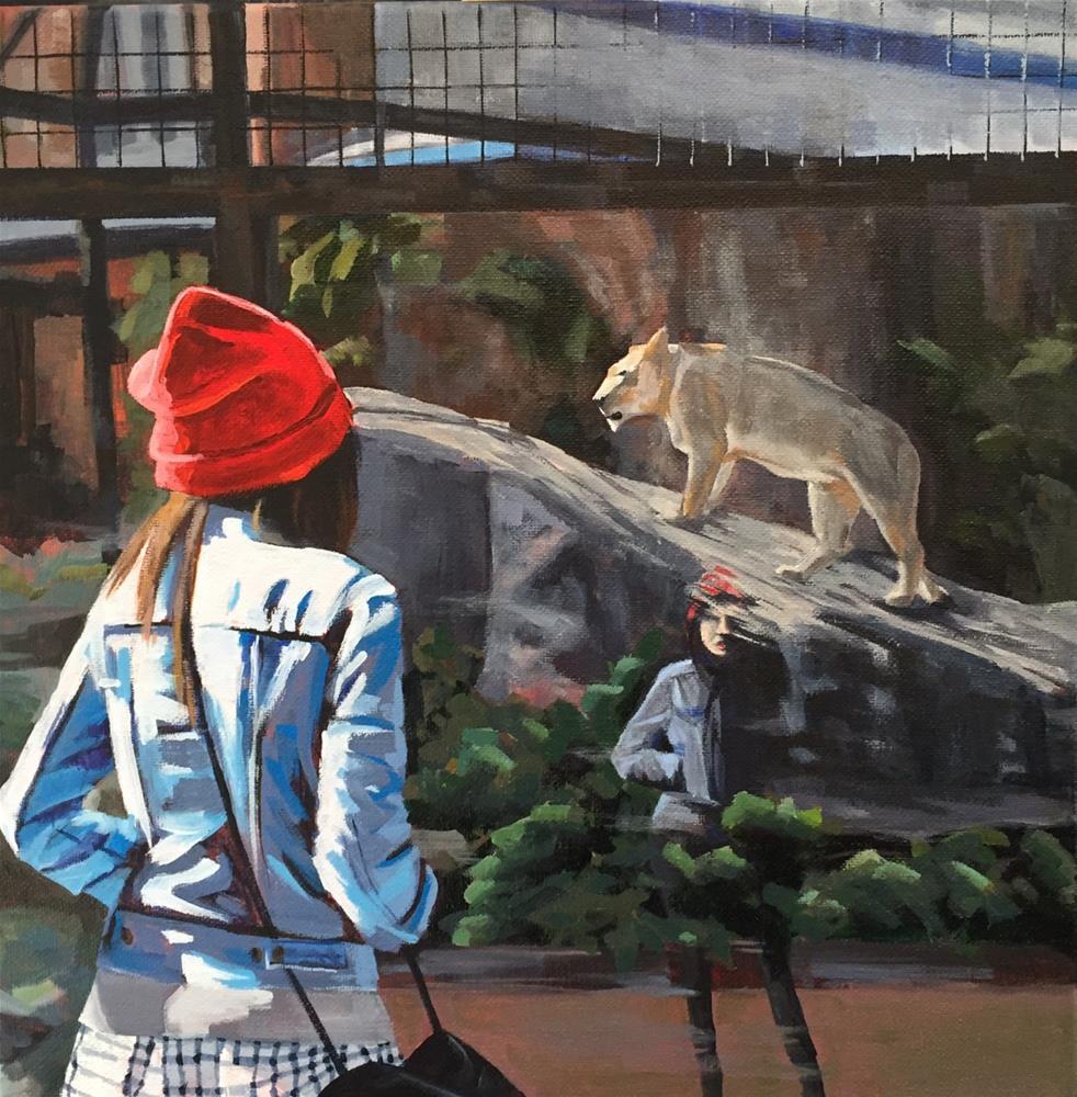 """""""Feminine Mystique"""" original fine art by Andrea Jeris"""