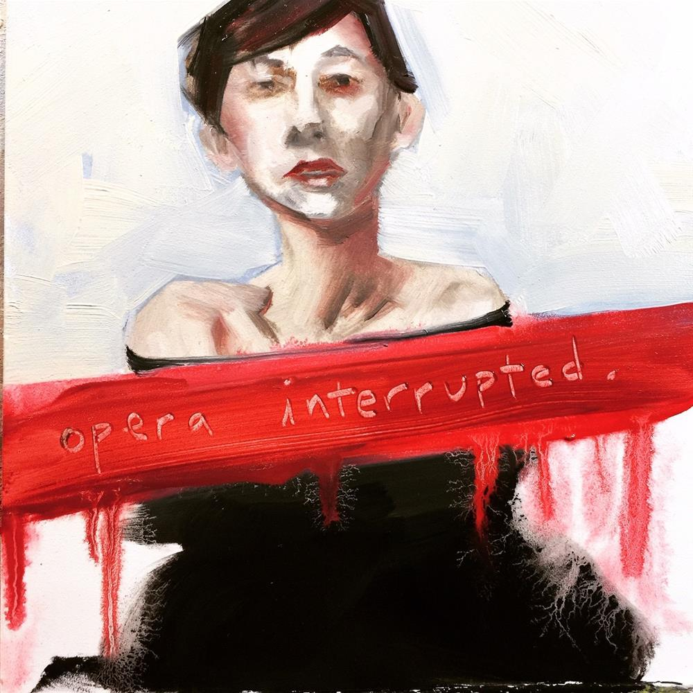 """667 Opera Interrupted"" original fine art by Jenny Doh"