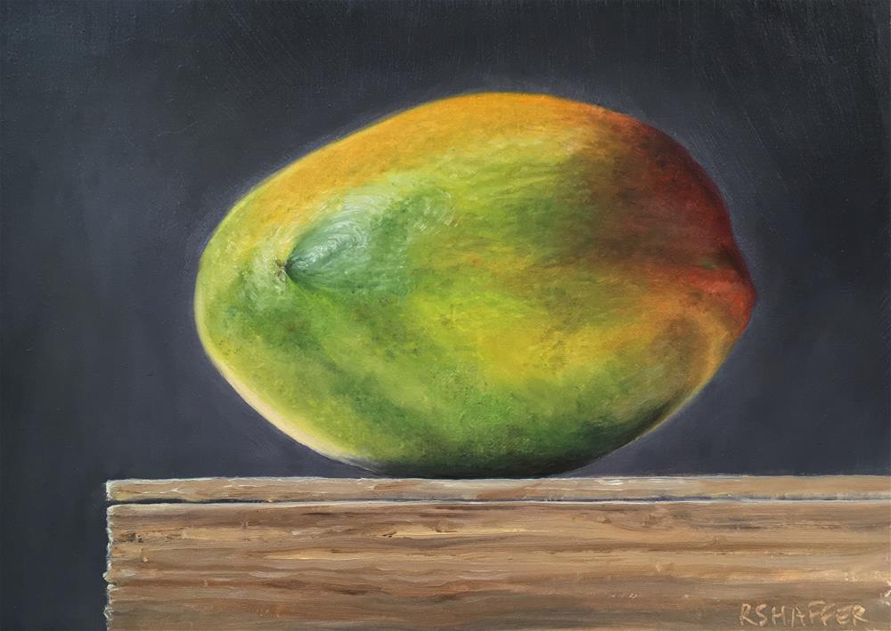 """Mango #2"" original fine art by Renay Shaffer"