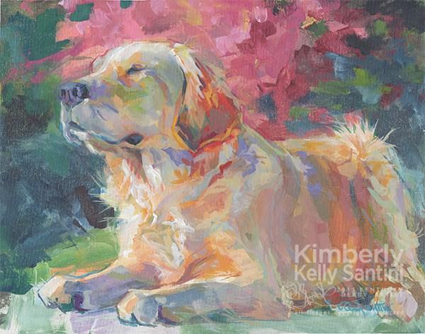 """Sun Goddess"" original fine art by Kimberly Santini"