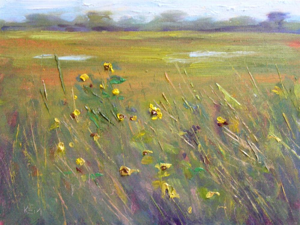 """L is for Landscape Painting Basics"" original fine art by Karen Margulis"