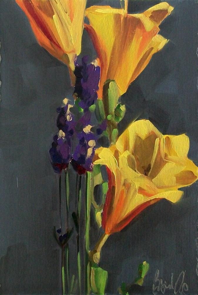"""""""Summer bouquet"""" original fine art by Brandi Bowman"""